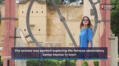 Actress Ruhi Singh is in her home town Jaipur for a well-deserved break