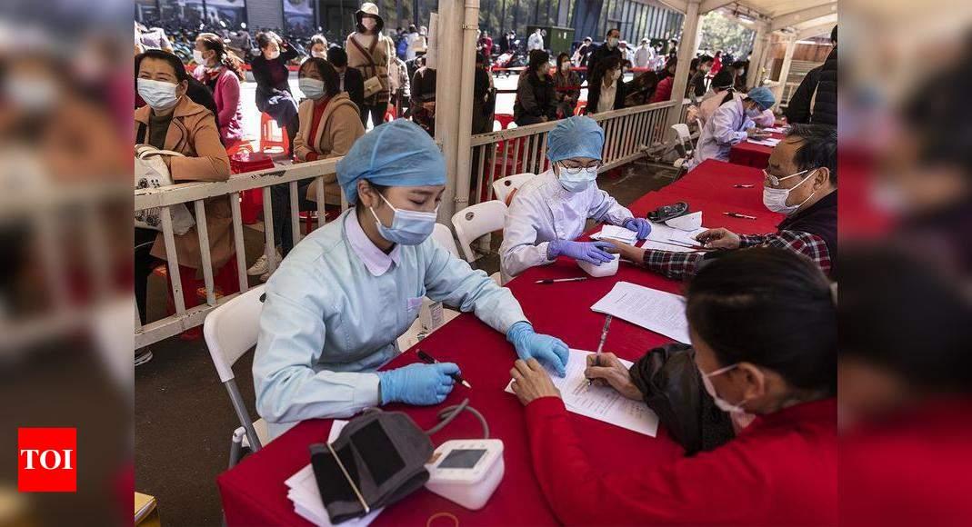 China's Wuhan city tests 11.23 million amid coronavirus resurgence – Times of India