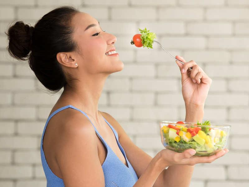 Organic food and beautiful body