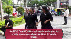 Take a look at a street play staged by an NGO Beautiful Bengaluru