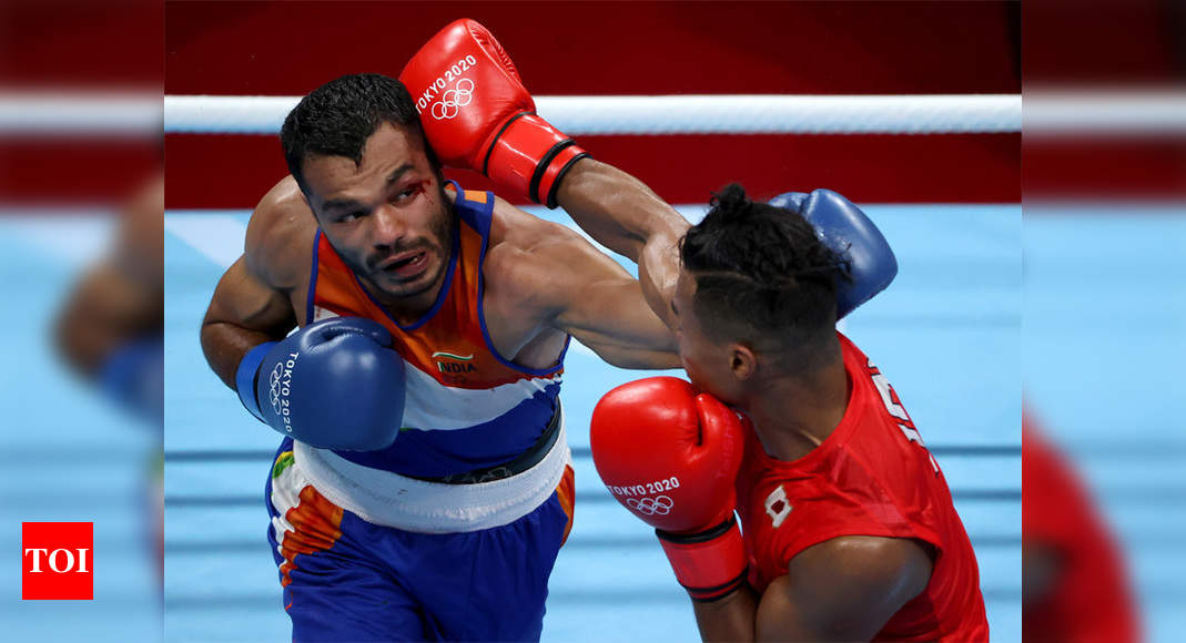 Vikas Krishan undergoes shoulder surgery after Olympic heartbreak, vows to come back stronger   Tokyo Olympics News – Times of India