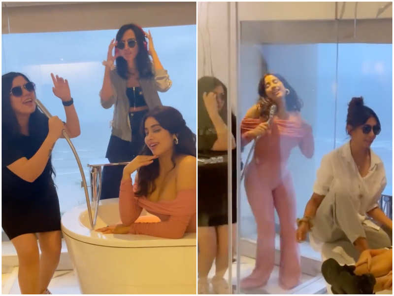 Watch: Janhvi Kapoor adds another quirky video to her Aksa gang edition