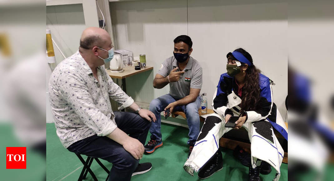 India's shooting coaches Pavel, Oleg set to go after Tokyo flop