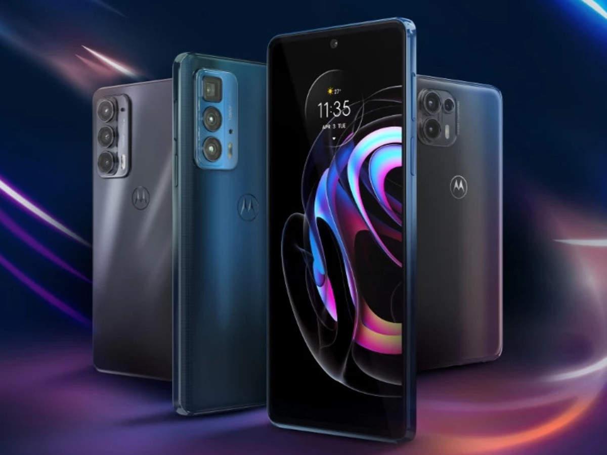 Motorola Edge 20, Edge 20 Fusion smartphones to launch in India soon -  Times of India