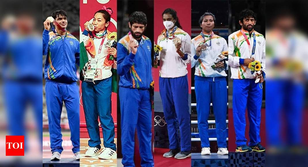 Tokyo Olympics India Winners: Full list of cash rewards announced for Indian medal winners   Tokyo Olympics News – Times of India