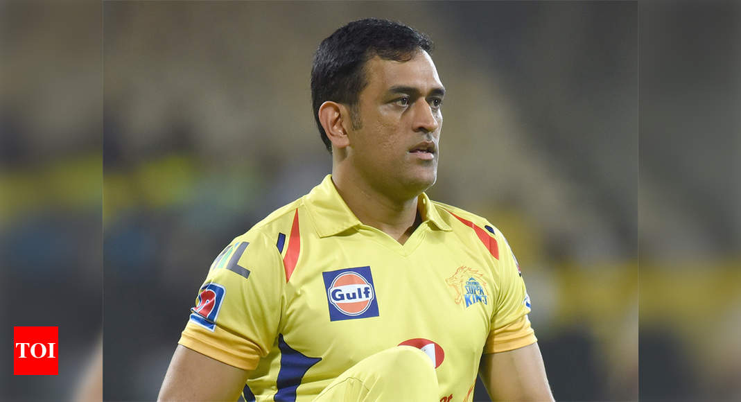 Dhoni lands in Chennai, CSK's Indian players likely to leave for UAE on August 13 | Cricket News – Times of India