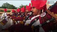 To commemorate Azadi Ka Amrit Mahotsav, a band display was conducted in Jaipur