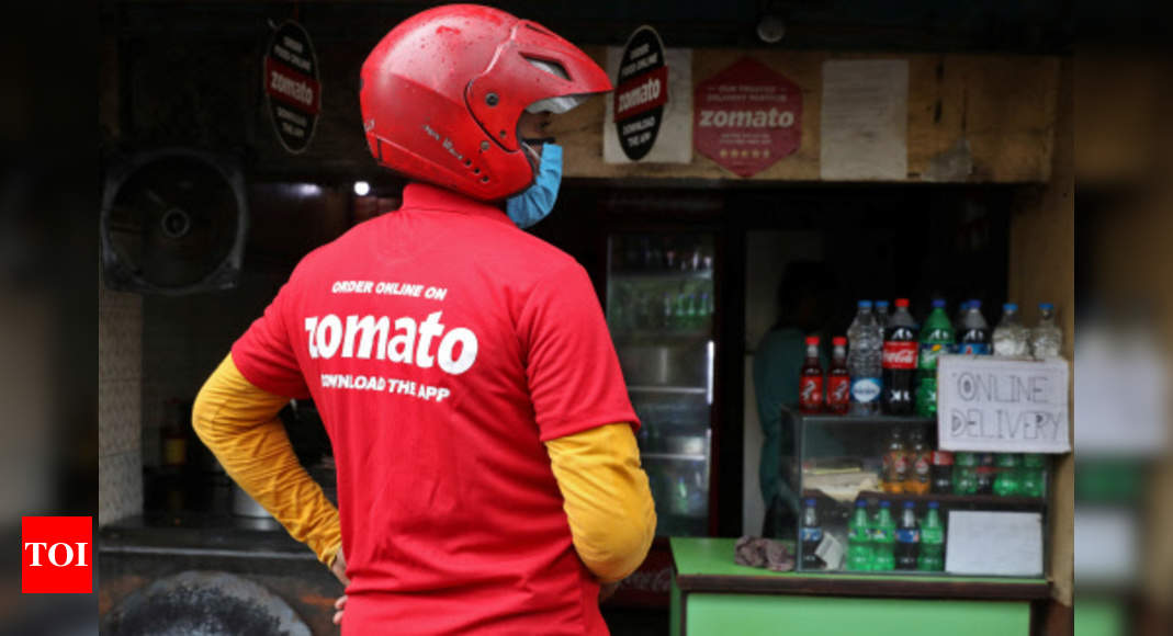 Food delivery firm Zomato posts bigger loss in first results since IPO – Times of India