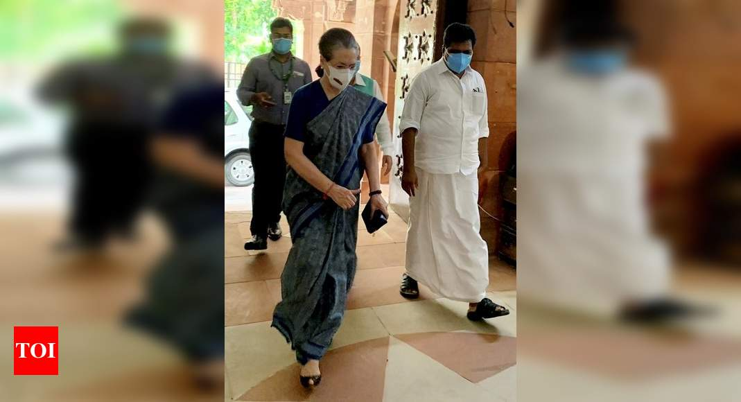 Sonia Gandhi's nod to formation of UP poll panel ahead of 2022 assembly election   India News – Times of India