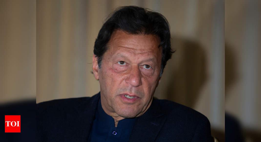 Taliban won't talk peace unless Ghani goes, says Pakistani PM – Times of India