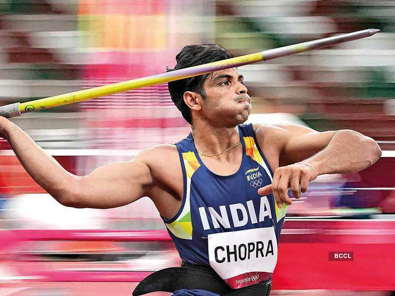 NeerajMania: T-shirts inspired by javelin's poster boy are latest rage -  Times of India