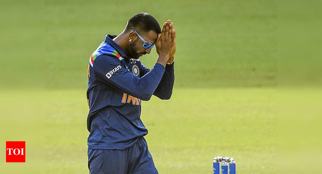 Did BCCI medical officer in Sri Lanka delay Krunal Pandya's Covid test despite player red-flagging symptoms?   Cricket News – Times of India