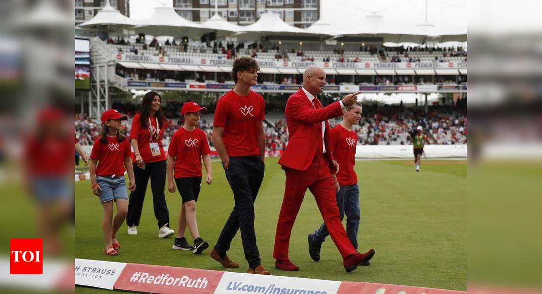 India vs England: Team India 'happy' to be part of Red for Ruth day at Lord's   Cricket News – Times of India