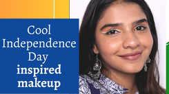 Makeup tutorial: Cool Independence Day inspired makeup