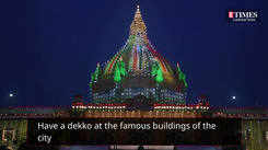 Watch the beautifully lit Lucknow on this Independence day
