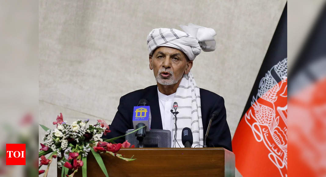 Afghan President Ashraf Ghani says 'remobilisation of armed forces top priority' – Times of India