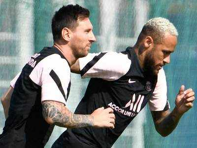 Psg Without Neymar And Messi Against Strasbourg Football News Times Of India