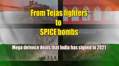 From Indian Tejas fighters to Israeli SPICE bombs: Mega defence deals that India has signed