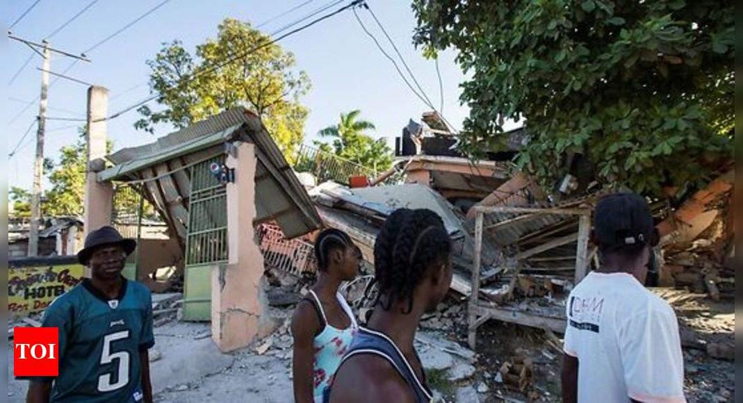 Haiti searches for survivors after quake kills at least 304 thumbnail