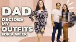Dad decides my OUTFITS for a week