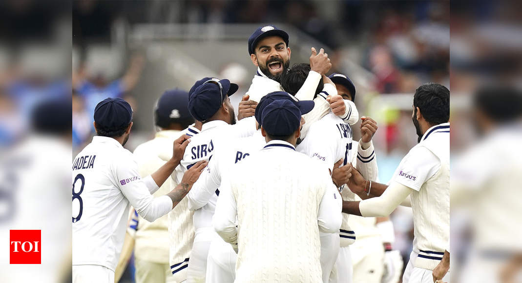 India vs England: Cricketing world lauds India's resilience and grit during Lord's Test win | Cricket News – Times of India