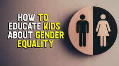 How to educate kids about gender equality