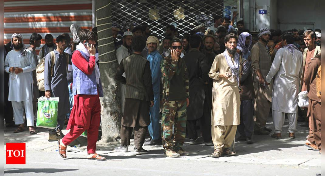 Afghans scramble to delete digital history, evade biometrics