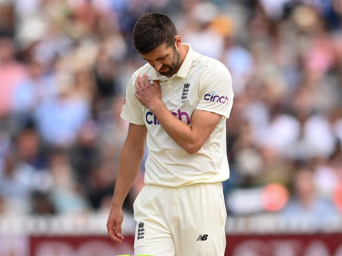 Mark Wood suffers shoulder injury, doubtful for third Test against India    Cricket News - Times of India