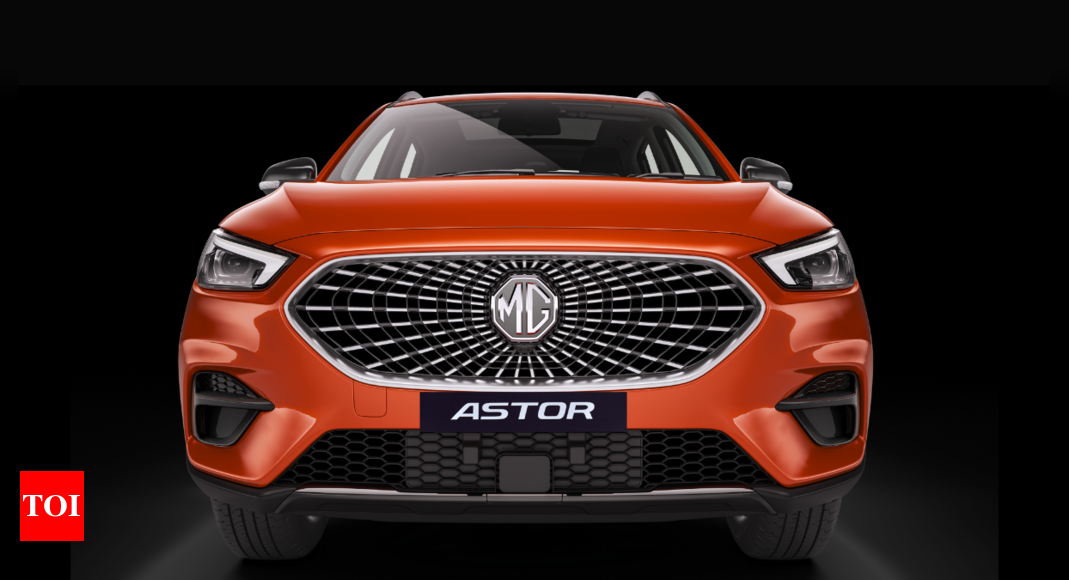 MG Astor launch in festive season, to offer level-2 A-DAS – Times of India
