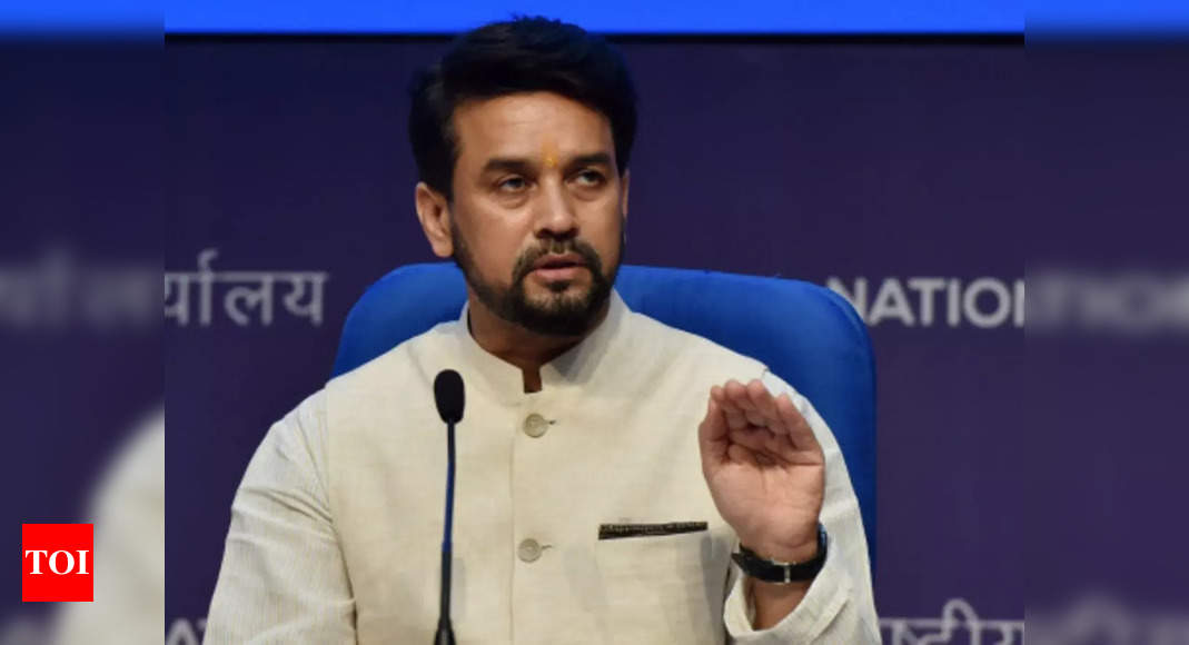 I hope Congress elects its president by 2024: Anurag Thakur hits out ahead of polls   India News – Times of India