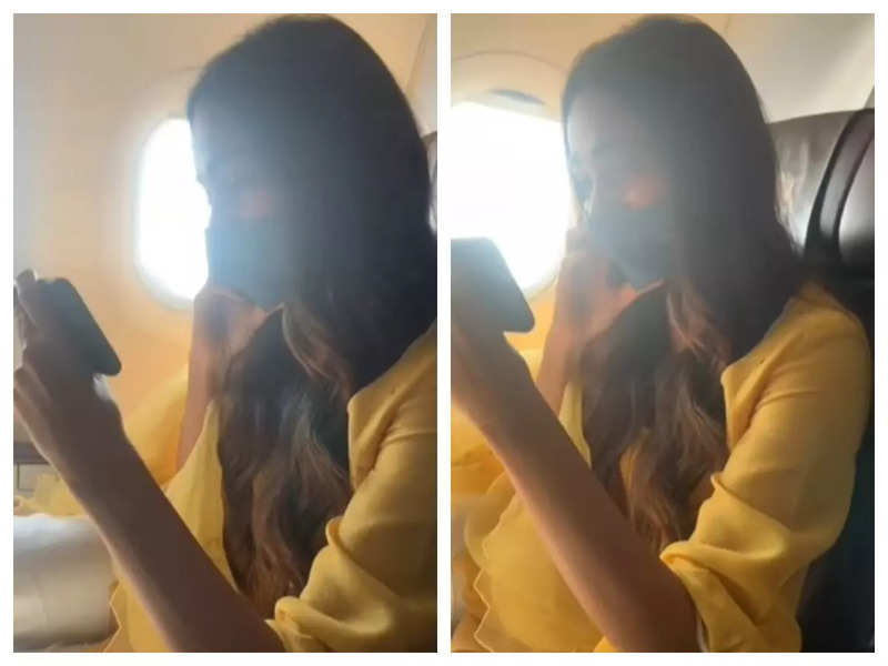 Watch: Video of Kiara Advani breaking down while watching Captain Vikram Batra's funeral scene in 'Shershah' goes viral