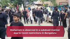 Muharram is observed in a subdued manner in Bengaluru