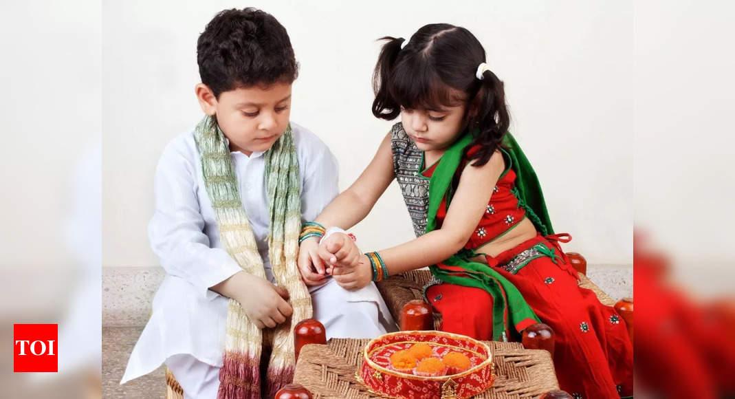 Happy Raksha Bandhan 2021: Rakhi Wishes, Messages, Quotes, Images, Facebook & Whatsapp status – Times of India