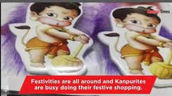 Cartoon rakhis attracting kids
