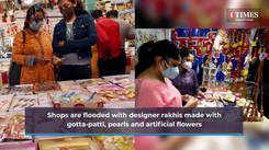 Jaipur markets see huge rush ahead of Rakhi