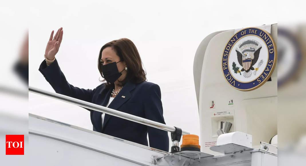 US VP Kamala Harris begins Asia trip amid Afghan debacle thumbnail