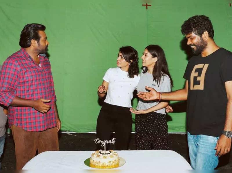 Nayanthara, Vijay Sethupathi and Vignesh celebrate Samantha's IFFM win