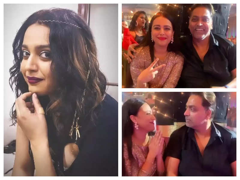 Swara Bhasker shares fun BTS pictures from the sets of 'Jahaan Chaar Yaar' as she shoots for a song with Ganesh Acharya