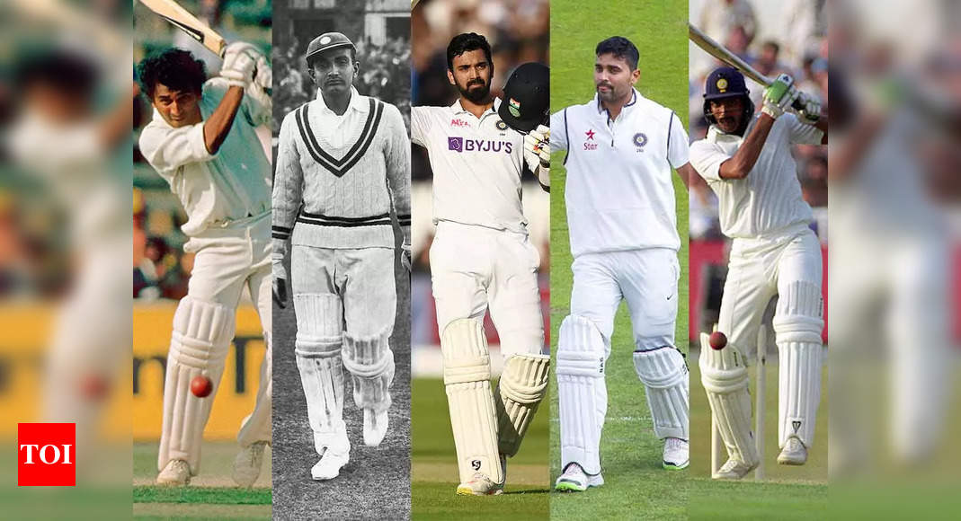 India vs England: Top 5 most successful India openers in Tests in England | Cricket News – Times of India