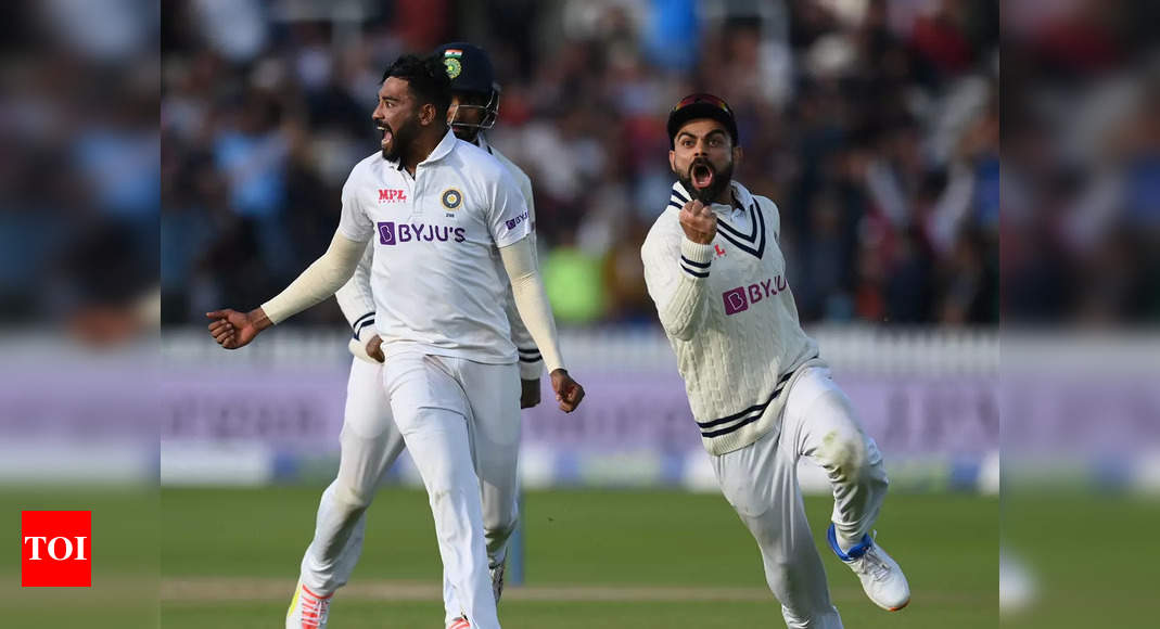 Mohammed Siraj knows he can get anyone out at any stage, not surprised by his growth   Cricket News – Times of India