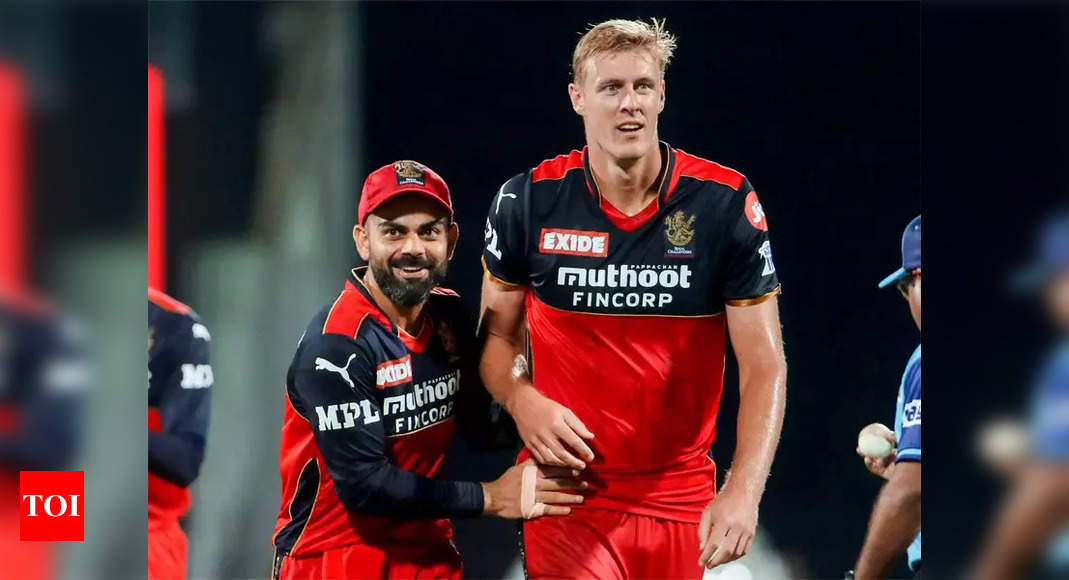 Virat Kohli is a lovely, welcoming guy who is passionate about winning: Kyle Jamieson   Cricket News – Times of India