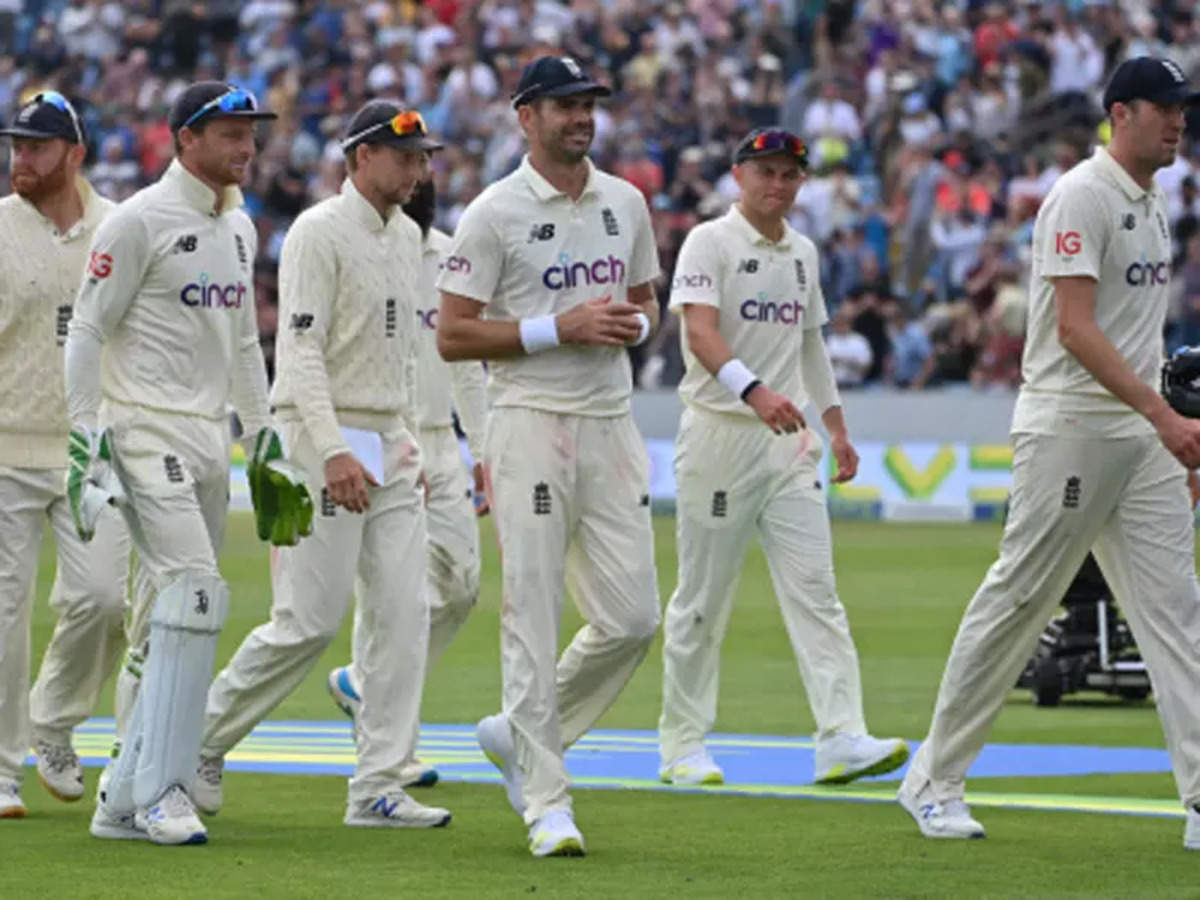 India vs England Test: India slump to 78 all out against England in third  Test   Cricket News - Times of India
