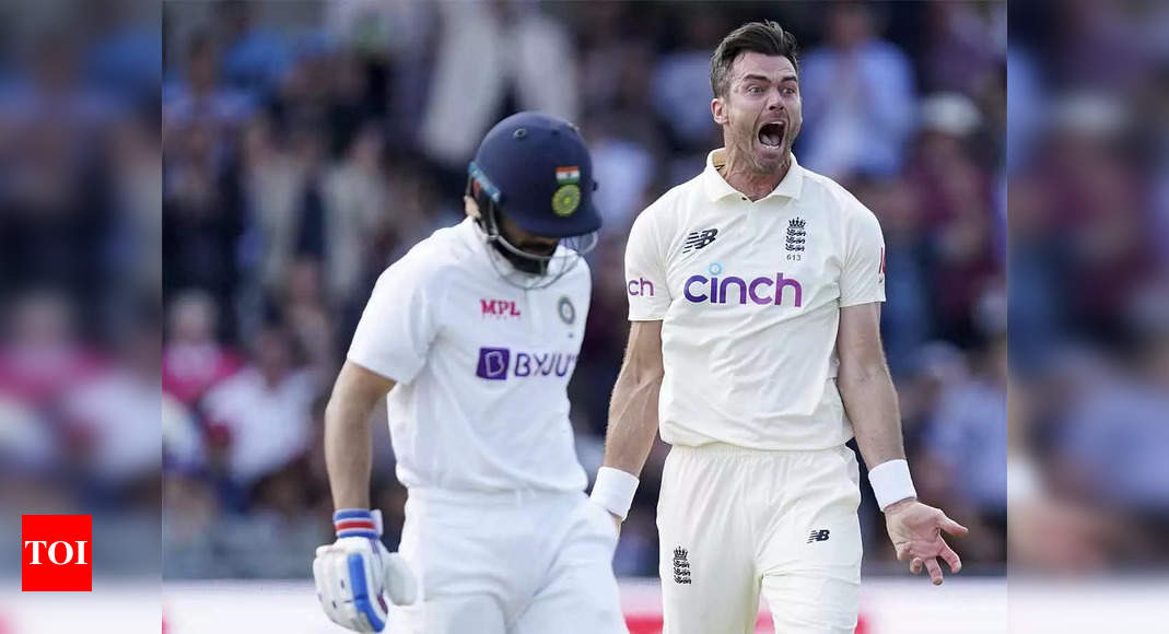 3rd Test: Led by James Anderson, England rip sorry India apart for 78 | Cricket News – Times of India