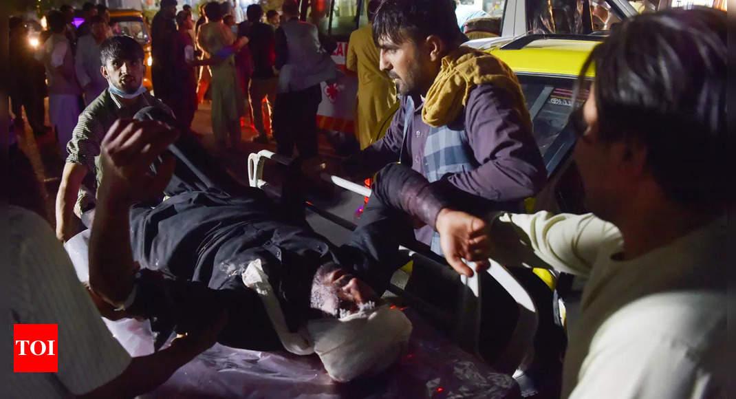 Hours after terror attack warning, blasts outside Kabul airport kill 25 thumbnail
