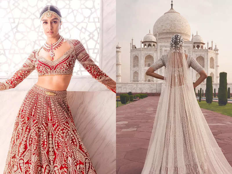 Falguni & Shane Peacock create history with their Taj Mahal shoot with Shraddha Kapoor