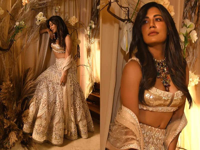 Chitrangada Singh turns muse for designer Reynu Taandon