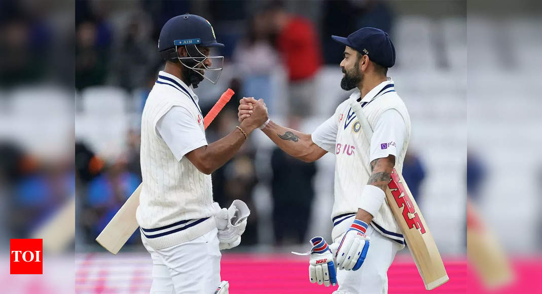 India vs England 3rd Test, Day 3: 'Attacking' Cheteshwar Pujara sets tone as India live to fight another day   Cricket News – Times of India