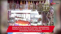 Kanpurites throng markets for Janmashtami shopping