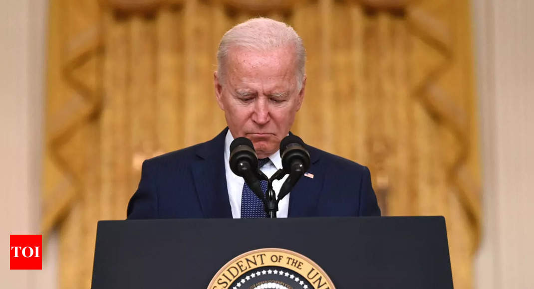 Biden in the 'loneliest job,' a presidency driven by crisis – Times of India