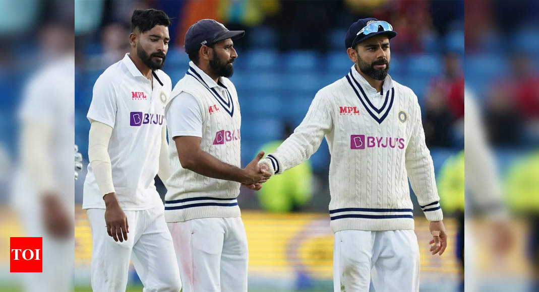 Don't believe extra batsman gives balance but will work on rotation of fast bowlers: Virat Kohli | Cricket News – Times of India
